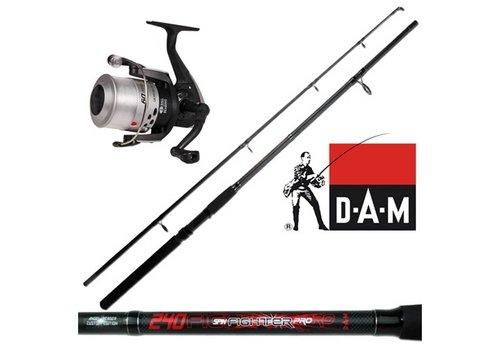 Dam Fighter Pro Spinset 2 Delig 2,40m Spinhengel