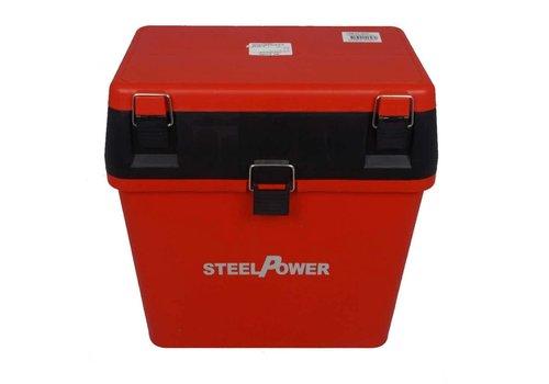 Dam Steelpower Seatbox Lid Rood Viskisten