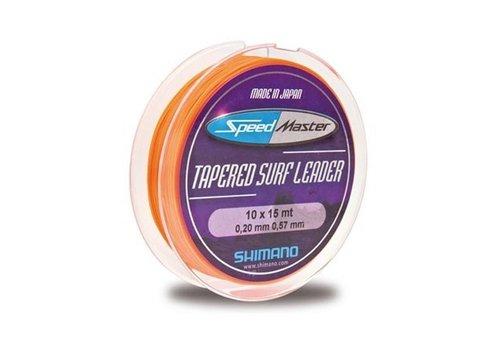 Shimano Speedmaster 10x15 Tapered Surf Leader Voorslag