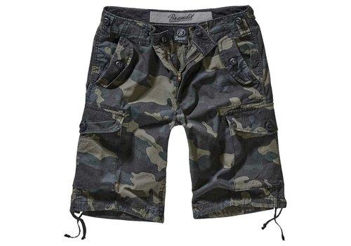 Brandit Hudson Ripstop Darkcamo Shorts Heren