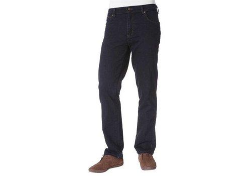 Wrangler Texas Stretch Blue Black Jeans Heren
