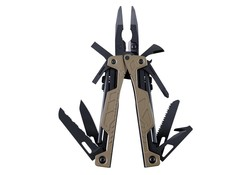 Leatherman One Handed Tool Molle Tan Multitool