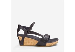 Teva Capri Wedge Dark Shadow Sandalen Dames