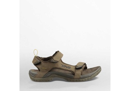 Teva Tanza Leather Brown Sandalen Heren