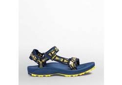 Teva Hurricane 2 Mosoic Navy/Yellow Sandalen Kids