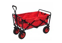 VDM De Luxe Rood Opvouwbare Bolderwagen