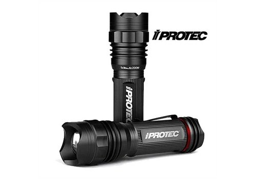 iProtec Pro 220 Led Light Zwart Zaklamp