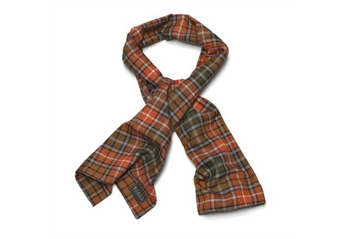 MGO Leisure Wear Cotton Scarf Antraciet Buchanan Sjaal Uniseks