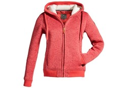 MGO Leisure Wear Tess Jacket Rood Vest Dames