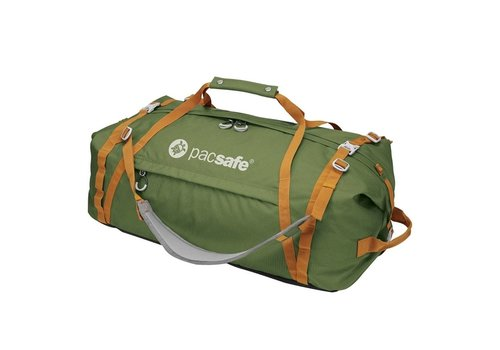 Pacsafe Duffelsafe AT80 Olive/Khaki Reistas