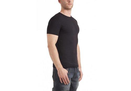 Garage Bodyfit R-Neck T-Shirt Zwart Heren