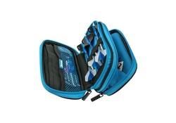 Harrows Zipper Wallet Double Blue Z800 Darts