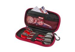 Harrows Zipper Wallet Grand Red Z400 Darts