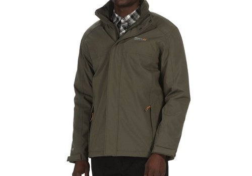 Regatta Hackber Dark Khaki Winterjas Heren