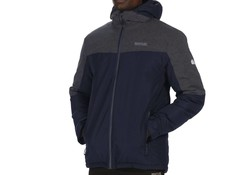 Regatta Garforth Navy/S Grey Jack Heren