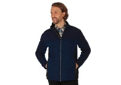 Regatta Zendon Navy Fleece Jack Heren