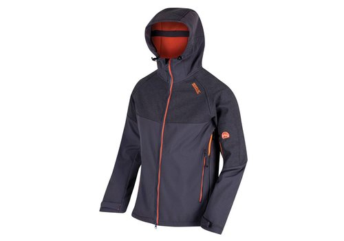 Regatta Hewitts III SLGry Softshell Jack Heren