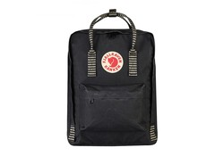 Fjallraven Kanken Black Striped 16 Liter Rugzak