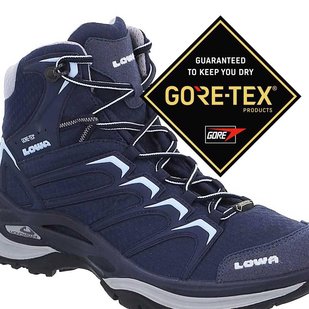 Iowa Chaussure Innox Gore-tex Milieu Femmes - Vert IR2R4D1