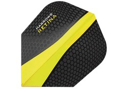 Harrows Retina Flights Darts Black/Yellow