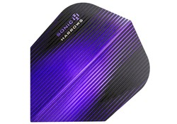 Harrows Sonic Flights Darts Purple Fusion