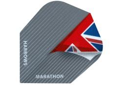 Harrows Marathon Flights Darts Flag Pageturner