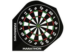 Harrows Marathon Flights Darts Dartboard