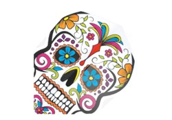 Harrows Quadro Flights Darts Flowered Skull