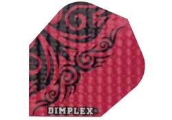 Harrows Dimplex Flights Darts Red Tribal