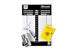 Harrows Scoreboard With Rules, Marker & Eraser Set