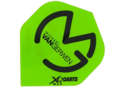XQ Max Darts Michael van Gerwen Flights Groen/Zwart Darts