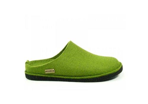 Haflinger Flair Soft Grasgrün Pantoffels Uniseks