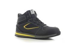 Safety Jogger Speedy S3 Zwart Geel Werkschoenen Uniseks