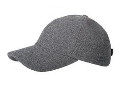 Hatland Lenox Wool Light Grey Cap