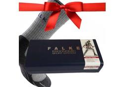 Falke TK2 Wool Silk Light Grey Wandelsokken Dames