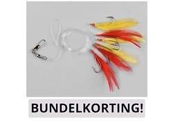 Spro BUNDEL 10x Makreelpaternosters 4745-046 2/0