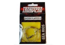 Tronixpro Sea Rigs 2 Hook Flapper