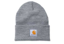 Carhartt Acrylic Watch Hat Heather Grey Muts