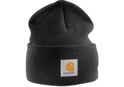 Carhartt Acrylic Watch Hat Black Muts