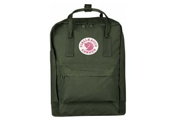 Fjallraven Kanken Forest Green Laptop 15 inch Rugzak