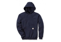 Carhartt Midweight Hooded Sweatshirt New Navy Heren
