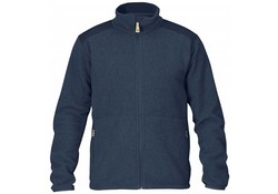 Fjallraven Sten Dark Navy Fleece Vest Heren