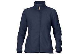 Fjallraven Stina Dark Navy Fleece  Vest Dames