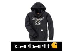 Carhartt Graphic 89 Zip Hooded Sweatshirt Black Heren