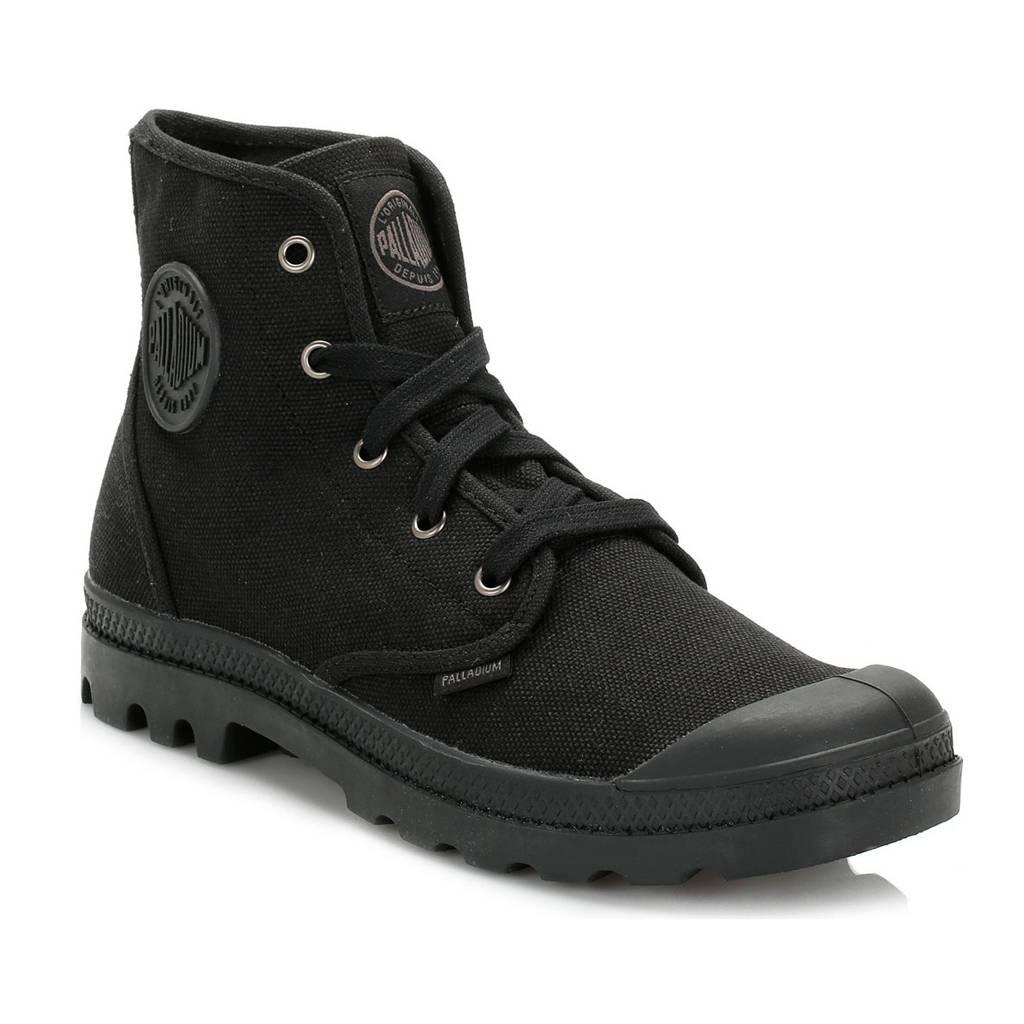 Palladium Pallabrouse Chaussures Noires Pour L'été Pour Les Femmes 8ukCgWTDC