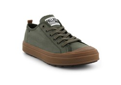 Palladium Sub Low Olive Night Mid Wandelschoenen Heren