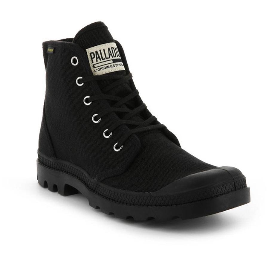 Pampa Hi Original Zwart Wandelschoenen Uniseks