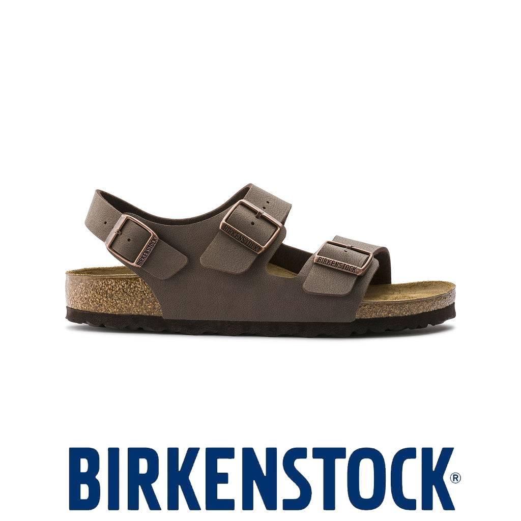 Birkenstock Milano Nubuck Pantoufles Mocca Taille Heren: 43 YaNYDygW