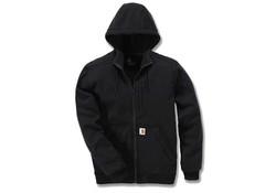 Carhartt Wind Fighter Hooded Sweatshirt Black Heren