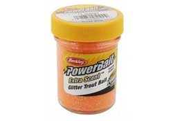 Berkley Powerbait Glitter Trout Bait Fluo Orange